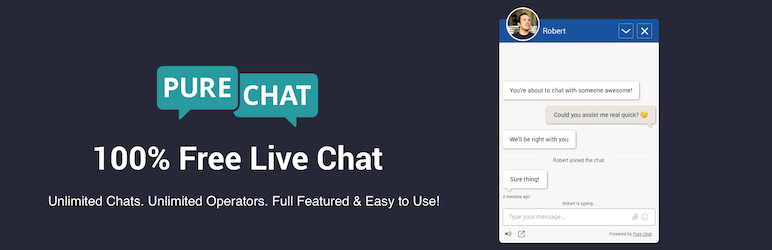 چت آنلاین وردپرس Pure-Chat