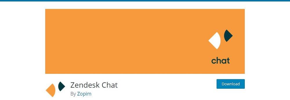 افزونه چت آنلاین Zendesk chat wp