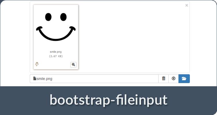 boostrap file input