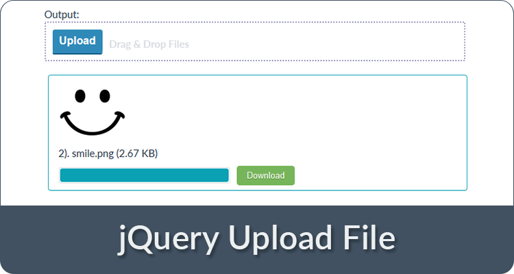 jquery upload file